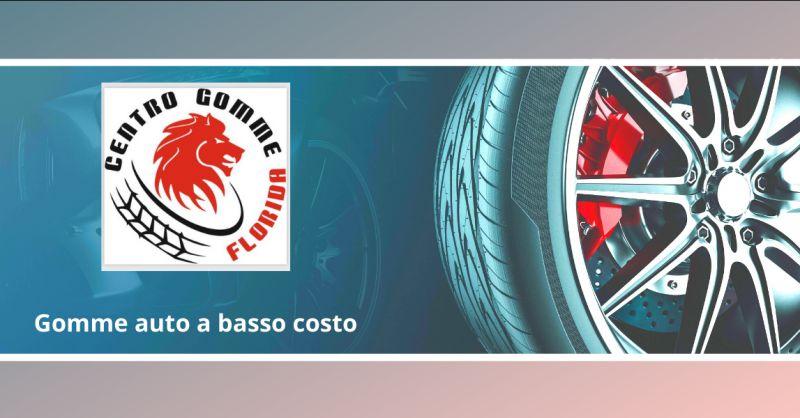 CENTRO GOMME FLORIDA - Offerta cambio gomme auto a basso costo castelli romani