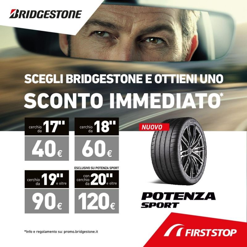 CENTRO GOMME FLORIDA - Promozione vendita pneumatici Bridgestone Pomezia