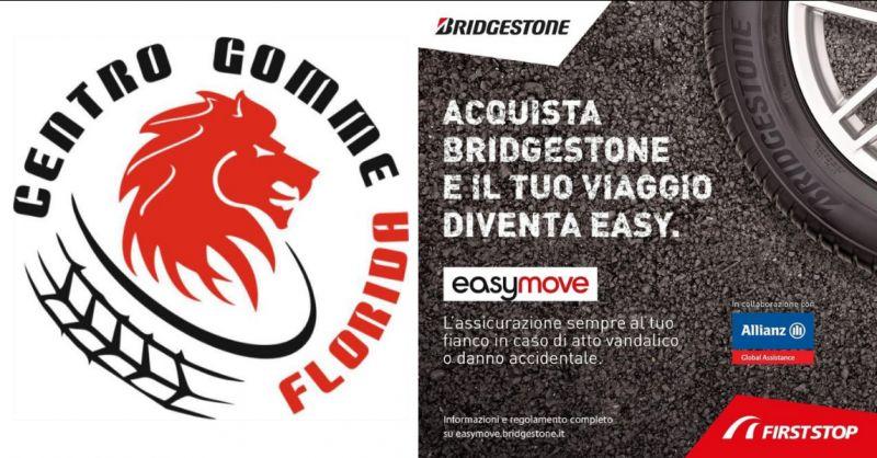 CENTRO GOMME FLORIDA - Offerta assicurazione gomme Bridgestone Pomezia