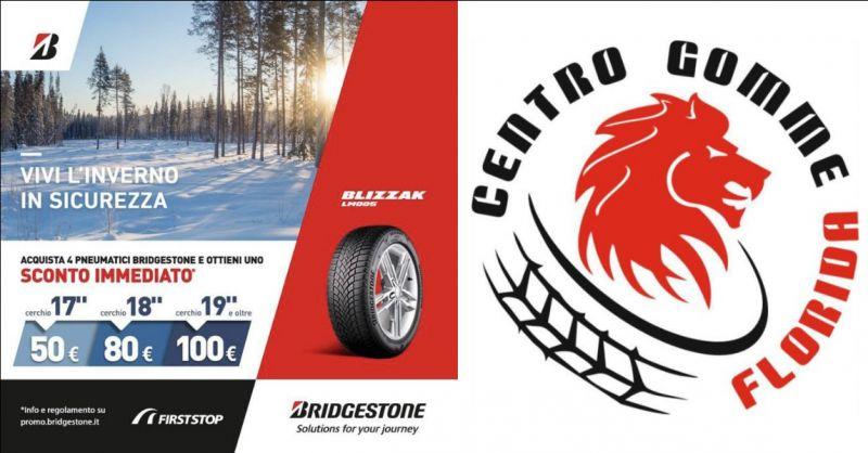 Offerta Pneumatici Bridgestone scontati Pomezia - occasione pneumatici con sconto immediato