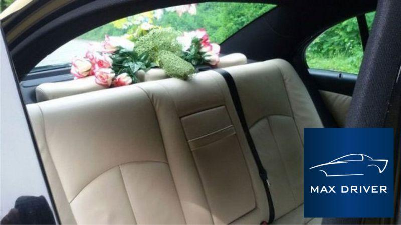 MAX DRIVER NCC offerta noleggio auto con conducente matrimonio - autonoleggio sposi con autista