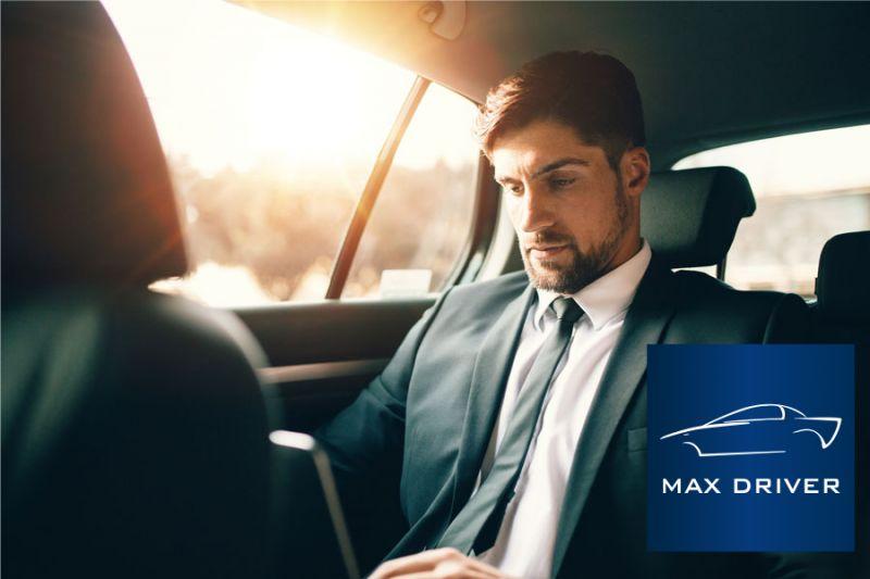 MAX DRIVER NCC offerta noleggio auto con autista meeting - promozione auto di rappresentanza