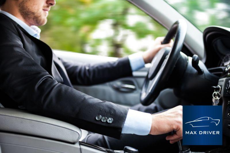 MAX DRIVER NCC offerta noleggio auto con conducente - promozione autista auto privata