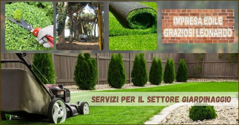 promozione servizi di giardinaggio e potatura piante Pisa - offerta servizio disboscamento Pisa