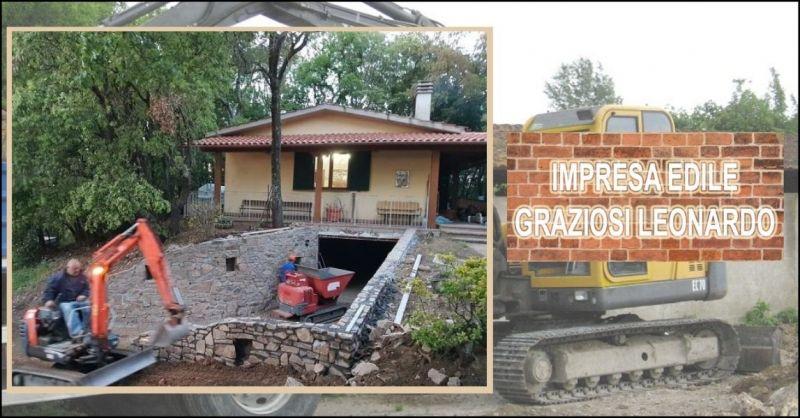 promozione movimento terra e scavi per fondazioni Pisa - IMPRESA GRAZIOSI