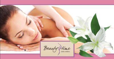 offerta trattamenti corpo rimodellanti occasione servizio massaggi professionali mantova
