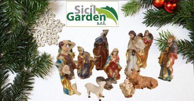 sicil garden offerta statuine nativita per presepe ragusa