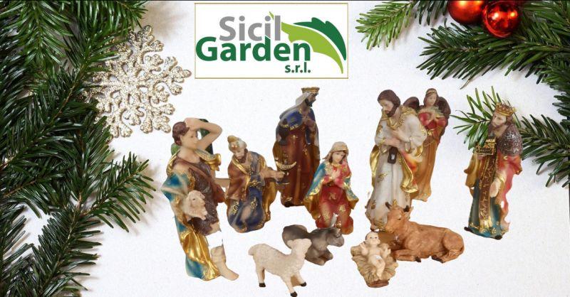 SICIL GARDEN - offerta statuine nativita per presepe ragusa