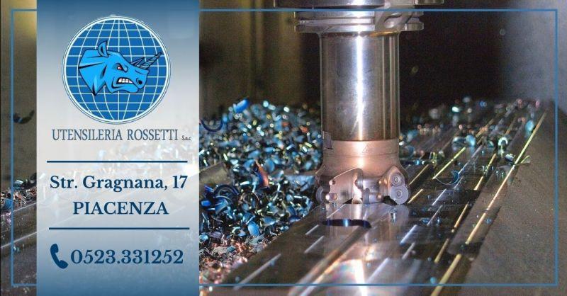 Offerta azienda specializzata nella creazione realizzazione utensili speciali a disegno provincia Piacenza