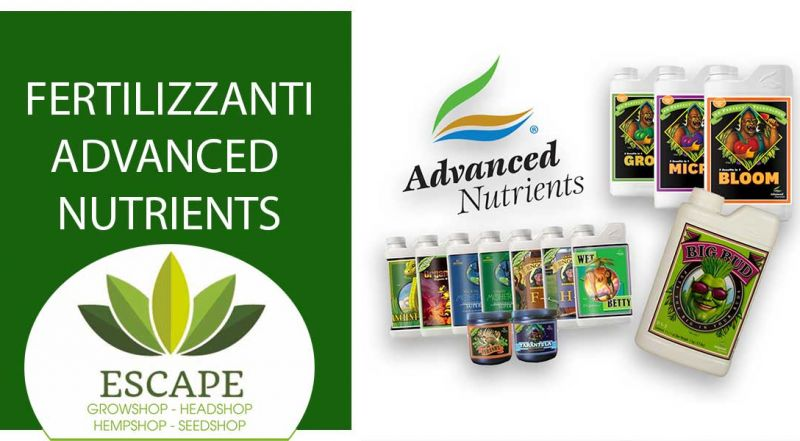 Occasione vendita fertilizzanti advanced nutrients zona Aprilia