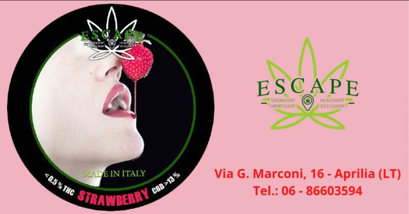 ESCAPE - Promozione prodotti canapa light Velletri