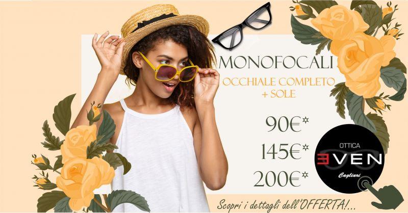 OTTICA EVEN - promozione occhiale vista monofocale completo lenti antiriflesso