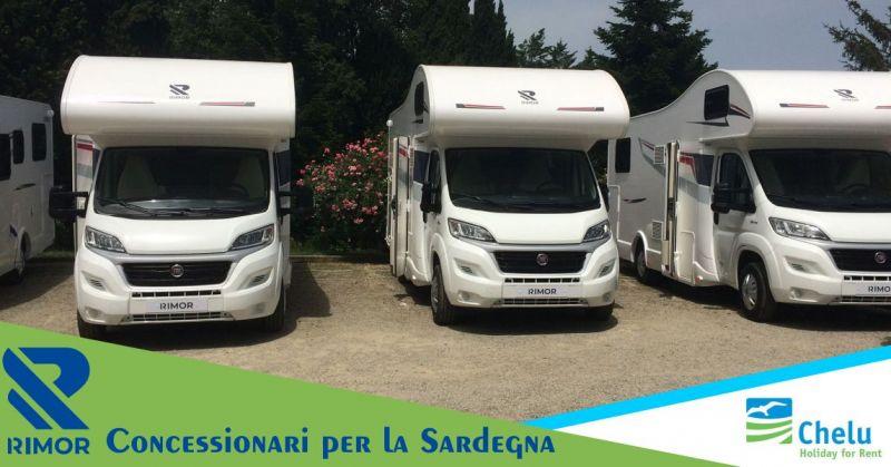 CHELU - offerta concessionario Sardegna Camper Rimor vendita e noleggio