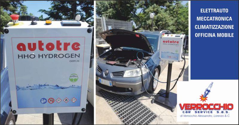 verrocchio car service offerta pulizia motore auto - occasione pulizia motore con idrogeno