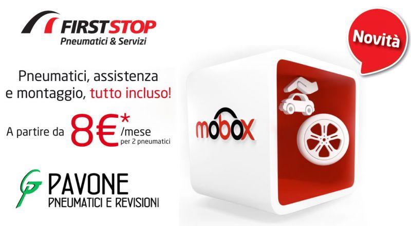 Offerta mobox service pack per pneumatici Reggio Calabria – promozione firststop assistenza e montaggio pneumatici Reggio Calabria