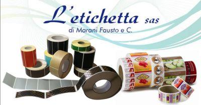 l etichetta offerta realizzazione etichette su materiale plastico povegliano veronese verona