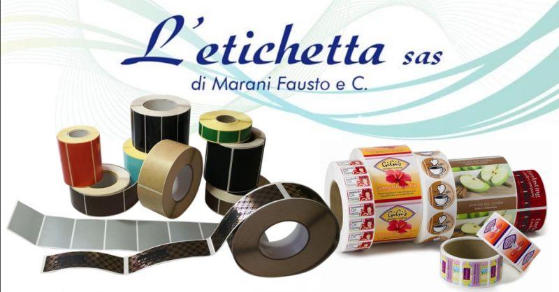 L ETICHETTA - offerta realizzazione etichette su materiale plastico Povegliano Veronese Verona