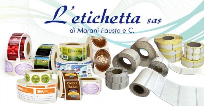 offerta fornitura di etichette autoadesive Verona - occasione realizzazione etichette per vetro