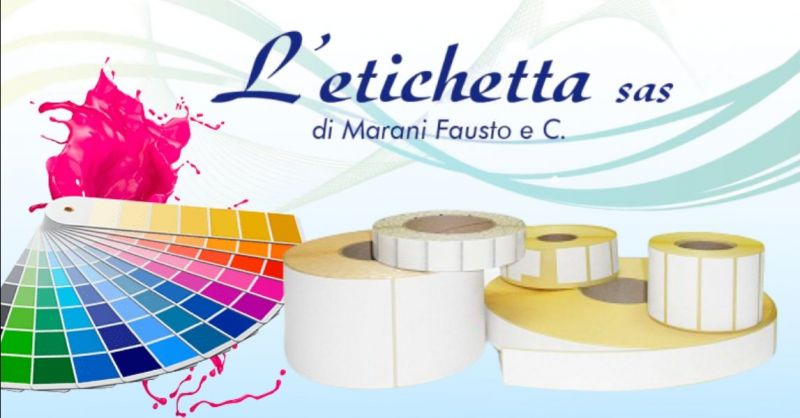 Occasione produzione etichette autoadesive su carta - Offerta servizio stampa digitale etichette Mantova