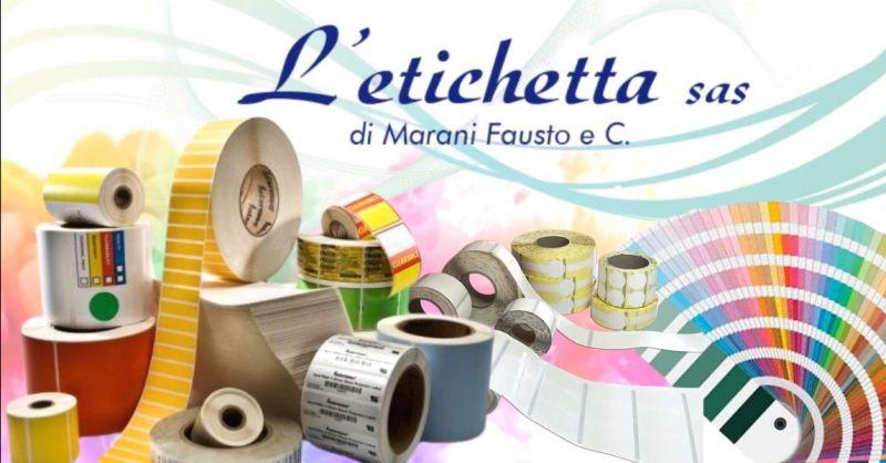 Promozione realizzazione etichette autoadesive con stampa sul retro Mantova Verona