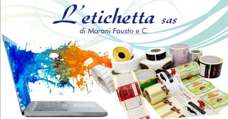 Offerta fornitura etichette per GDO grande distribuzione - Occasione servizio progettazioni grafiche Verona