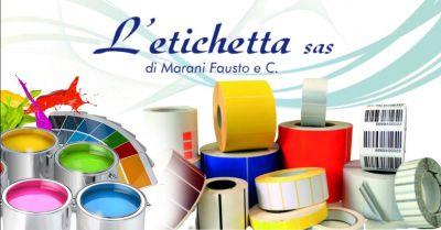 offerta servizio stampa etichette da 1 a 8 colori occasione produzione etichette adesive in rotolo verona