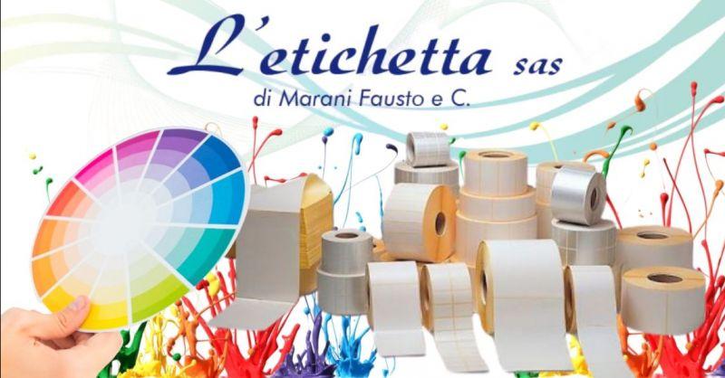 Offerta produzione etichette con adesivo rimovibile per vetri e ceramiche Verona