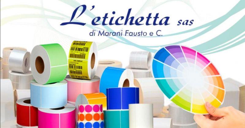 Offerta etichette adesive in carta vellum Verona - Occasione produzione etichette in carta patinata