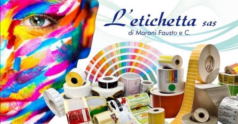 Offerta produzione etichette adesive in bobina - Occasione realizzazione etichette su carta Mantova