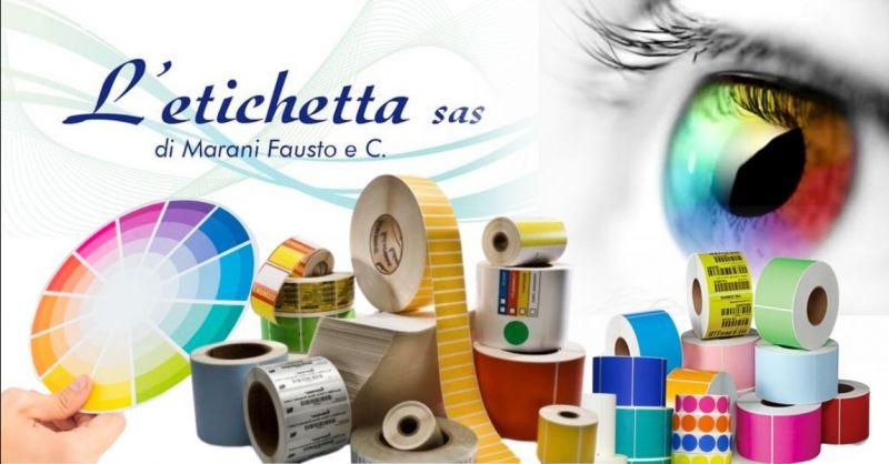 Occasione Servizio progettazione etichette su carta - Offerta Vendita etichette personalizzate Mantova