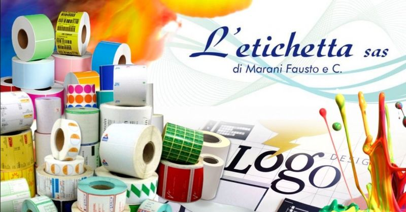 Promozione fornitura etichette personalizzate con logo - Offerta produzione etichette per vetri Mantova