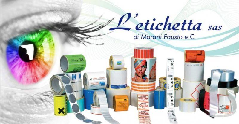 Offerta Servizio stampa etichette adesive rimovibili - Occasione Etichette in rotolo provincia Verona
