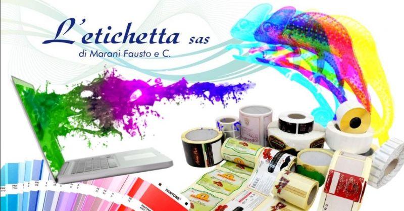 L'ETICHETTA - Offerta la migliore azienda produttrice di etichette adesive a Verona e provincia