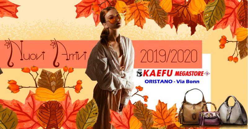 NEW KAEFU MEGASTORE  Oristano -  offerta abbigliamento e accessori autunno inverno