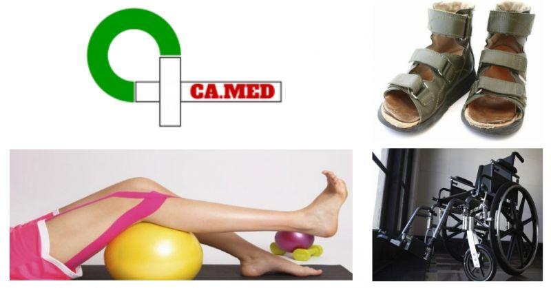 Camed - offerta calze riposanti - promozione carrozzine - occasione scarpe ortopediche - Genova