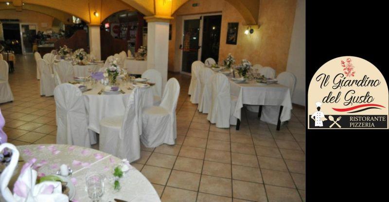 Ristorante IL GIARDINO DEL GUSTO - offerta ricevimento matrimonio Cagliari
