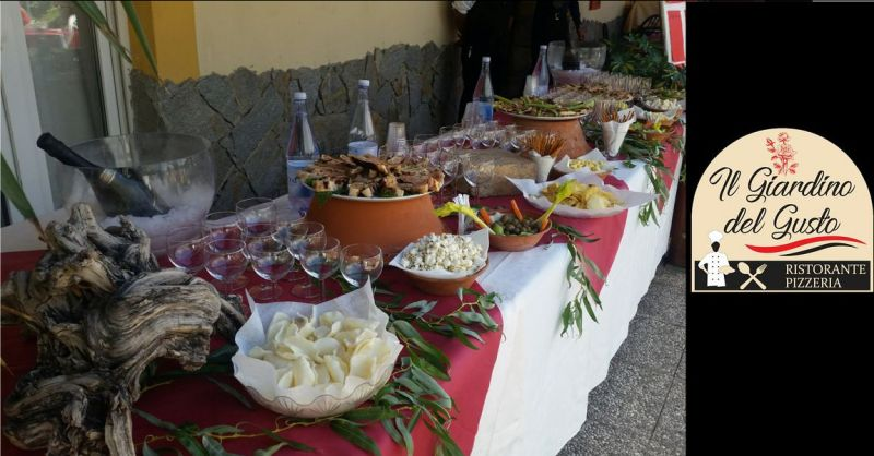 Ristorante IL GIARDINO DEL GUSTO - offerta banchetto cerimonia Cagliari