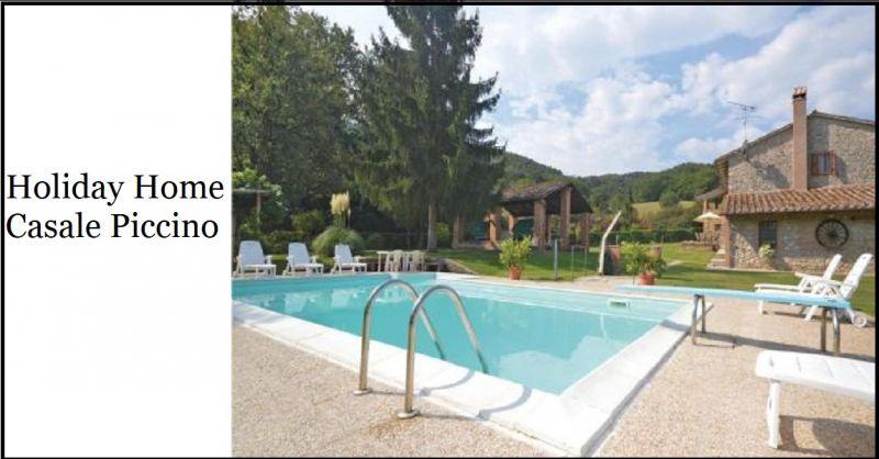 Holiday Home Casale Piccino - Offerta soggiorno in Umbria immerso nella natura piscina privata