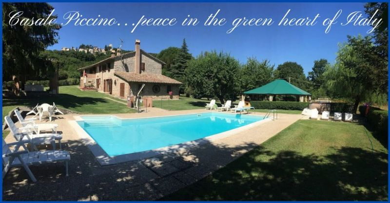 Holiday Home Casale Piccino - Trova una villa in affitto con piscina e tutti i comfort in Umbria