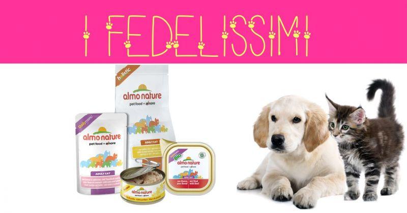 I FEDELISSIMI negozio animali - offerta alimenti cani e gatti Almo Nature