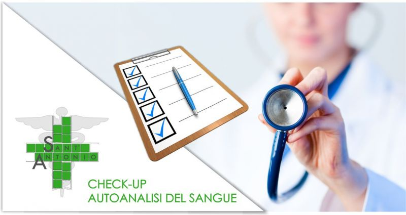 FARMACIA SANT'ANTONIO - offerta check-up e autoanalisi del sangue valutazione stato salute