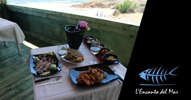 ENCANTO DEL MAR - offerta piatti a base di pesce fresco sul mare Santa Margherita di Pula