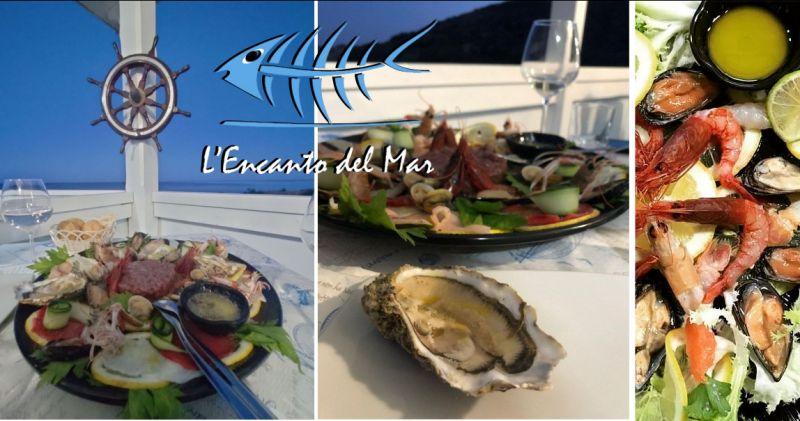 Ristorante L ENCANTO DEL MAR - offerta migliore crudite di pesce Santa Margherita di Pula