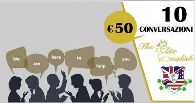 the elite english language academy offerta 10 ore di conversazioni in inglese con insegnante madrelingua