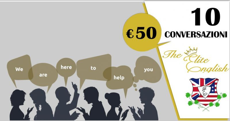 The Elite English Language Academy - offerta 10 ore di conversazioni in inglese con insegnante madrelingua