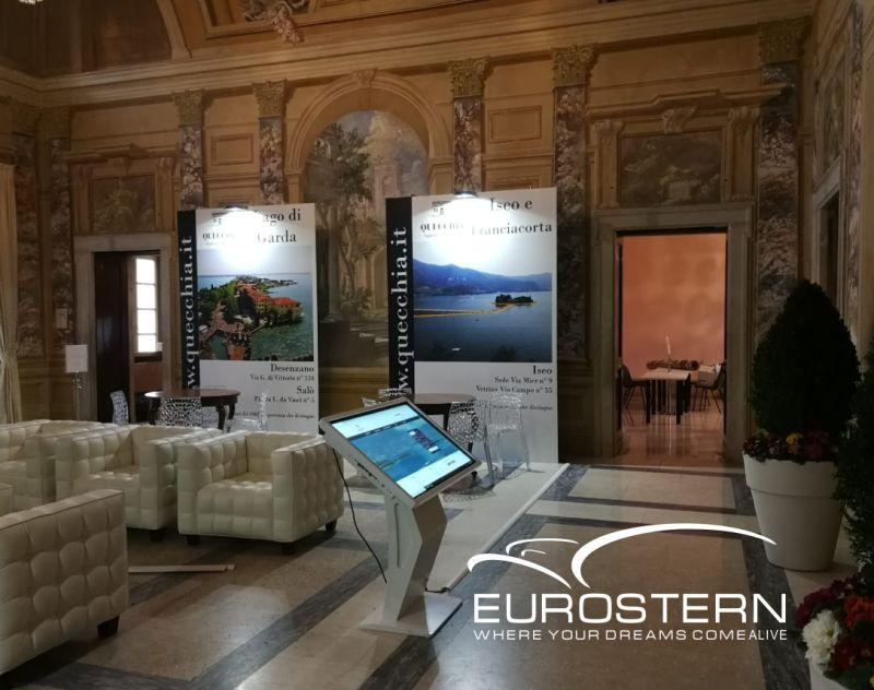 EUROSTERN offerta noleggio kiosk multimediale touchscreen - promozione vendita schermi touch