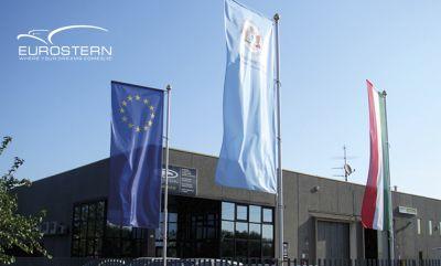 eurostern offerta realizzazione bandiere personalizzate promozione bandiere tessuto flag