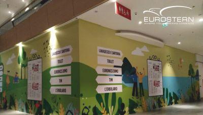 eurostern offerta decorazioni murali installazione rapida promozione decorazione muro