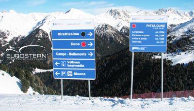 eurostern offerta realizzazione segnaletica alluminio estruso promo segnaletica in plastica
