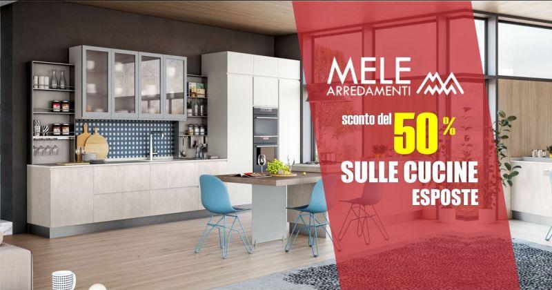 MELE ARREDAMENTI - promozione meta prezzo cucine esposte Lube e Creo kitchens